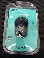 "Logitech Wireless Mouse M187 - Swift Gray  ""NEW"" ... D4"
