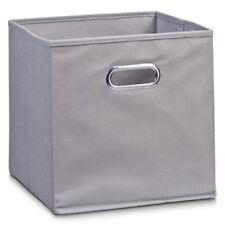Zeller Aufbewahrungsbox grau Vlies Maße 28x28x28 Cm