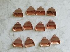 New listing One Dozen Copper Cowbells