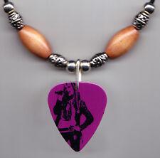 Miley Cyrus Hannah Montana Photo Guitar Pick Necklace #4