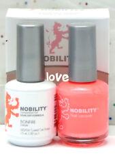 LECHAT NOBILITY LED/UV GelColor & Free Nail Polish Set NBCS119- Bonfire