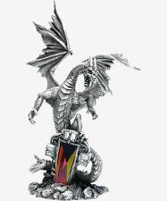 The Sentinel Pewter Myth and Magic - Dragon Figurine