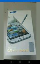 BOXED SAMSUNG GALAXY NOTE 2 GT-N7100 UNLOCKED SMARTPHONE,WHITE, black COLOUR