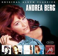 ANDREA BERG - ORIGINAL ALBUM CLASSICS  5 CD NEU