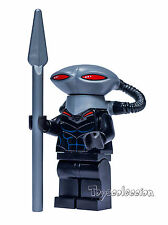 LEGO SUPER HEROES DC COMICS MINIFIGURA BLACK MANTA SET 76027 ORIGINAL MINIFIGURE