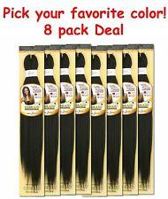 "(8 pack Deal) I&I Innocence EZ Braid Original Pre-Stretched Braiding Hair 26"""