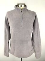 Patagonia CAPILENE Womens Fleece Pullover Jacket Size L Purple Lilac 1/4 Zip