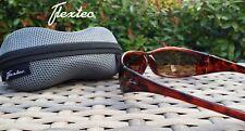 Flextec Polarized polarised Polaroid Fishing Sunglasses Brown Lens Rrp £49.99
