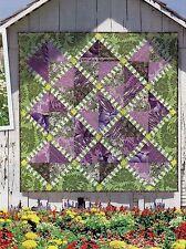 A Walk Through The Garden Quilt Pattern Pieced JW