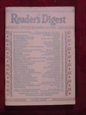 Readers Digest July 1940 July 1940 Walter Lippmann Groucho Marx Maude Adams