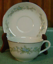 Royal Court Blue Fantasy Cup & Saucer