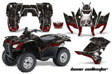 ATV Graphics Kit Decal Sticker Wrap For Honda Rancher AT 2007-2013 BONES BLACK