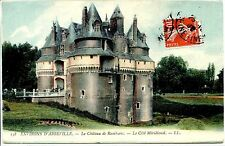 CP 80 SOMME - Environs d'Abbeville - Le Château de Rambures - Le Côté Méridional