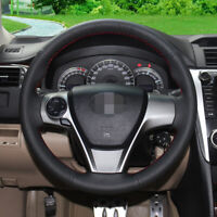 Stitch Wrap Steering Wheel Cover Custom for 3-Spoke Toyota Camry 12 15 14 Venza