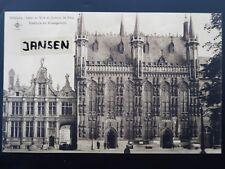 AK Brügge Bruges Großformat 20 x 14 cm Hotel de Ville Gotischer Stil