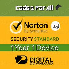Norton Security Standard 2016/17 1 année 1 Dispositif Clé de licence uniquement