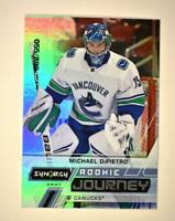 2020-21 UD Synergy Rookie Journey Away #RJ-MD Michael DiPietro RC /899