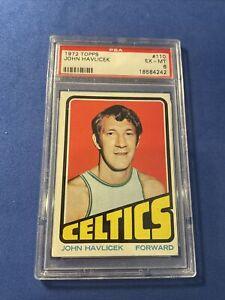1972 Topps JOHN HAVLICEK #110 PSA EX-MT 6 Boston Celtics HOFer