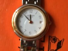 MUST HAVE Uhr v HERMES PARIS Winsor 18k Goldplated-SS -2 Tone  24mm-in Aktion