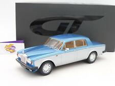 """GT Spirit GT092 # Rolls Royce Silver Shadow II Bj. 1977 """" blau-silberblau """" 1:18"""