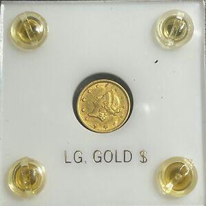 1854 Gold Dollar One Dollar Gold Coin