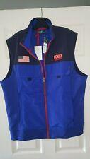 Polo Ralph Lauren Hi Tech Mixed-Media Vest Ralph Lauren Polo sz MEDIUM BRAND NEW
