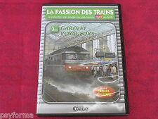 DVD rail Passion des Trains / GARES et VOYAGEURS / Excellent état.