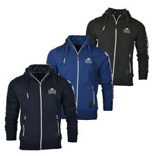 New Mens Crosshatch Zip Up Hoodie Sweater Spring/Summer