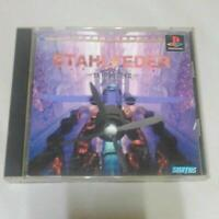 Stahlfeder PlayStation PS1 Suntos Used Japan Boxed tested Working Shooter Game