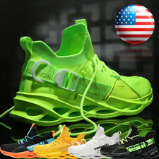 Men's Athletic Running Sneakers Casual Walking Jogging Tennis Spots Shoes Gym