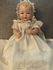Antique Effanbee Bubbles Composition Doll 1924 22 Inch