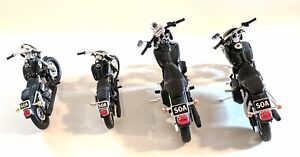 Sons of Anarchy Diecast Motorcycles Lot of 4 Set SOA