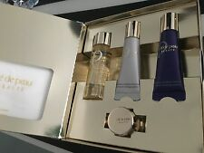 Cle De Peau Skincare 5 Pc Set kit: emulsion, lotion,  la cream,cotton sheets