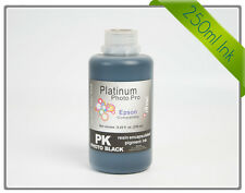 Rihac 250ml Photo Black Pigment Ink for Epson Stylus Photo 3800 & 3880 Printer