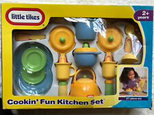 Little Tikes Cookin' Fun Kitchen Set, 27 Pieces