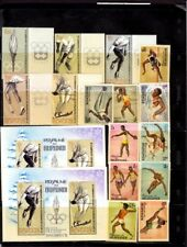 "BURUNDI STAMPS AND BLOCKS,  ""OLYMPIADE""  **MNH"
