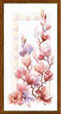 Cross stitch kit RIOLIS 1278 Magnolia