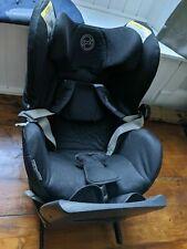 Cybex Sirona Isofix Car Seat 360° Platinum Swivel Black 0-18 Kgs *missing clip*