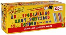 Schulset mit Magneten + Kreide Malen Tafel Schreiben