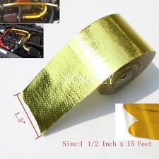 Sundely Gold Reflective Tape Car Firewall Heat Shield Barrier 1.5'' x 15'