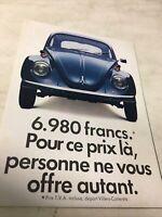 Volkswagen VW 1300 1500 411E 1600 1970 catalogue prospectus brochure vintage