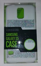Infinitive Samsung Galaxy S5 case - White/Silver Glitter - NEW