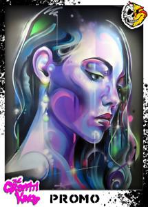 Graffiti Kings PROMO - Digital NFT Blockchain Art Card - Mint #11836 RARE!!