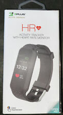 3Plus Elite Series Hr Activity Tracker with Heart Rate Monitor Black