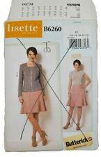 Butterick 6260 Misses Jacket Skirt Sewing Pattern Size 14-22 UNCUT Lisette