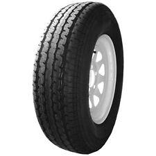 Provider 205/75/R15 LR C White Spoke Trailer Tire / Wheel Assembly 5-4.5