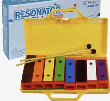 8-Note Resonator Bells Set in Case Chime Bar Brand New & Sealed Only £12.99