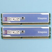 Kingston HyperX Blu 8GB 2x4GB DDR3 12800 1600Mhz CL9 Desktop 240 Pin Memory RAM