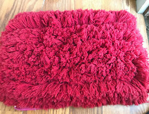 Flylady's Floor Duster Mop Replace Head Red used