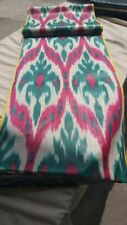 Uzbek tlhandwoven cotton ikat fabric by meter. Tribal, ethnic fabric. ISM029